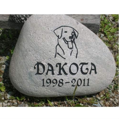 Dog stones pet stones pet memorial stone pet monuments pet garden memorial stone medium personalized enlarge image publicscrutiny Image collections