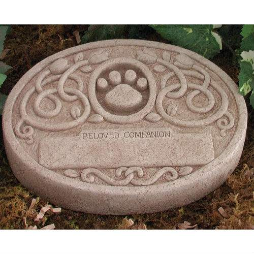 Floral pet memorial garden stone gc 5038 3700sympathy gift floral pet memorial garden stone enlarge image workwithnaturefo
