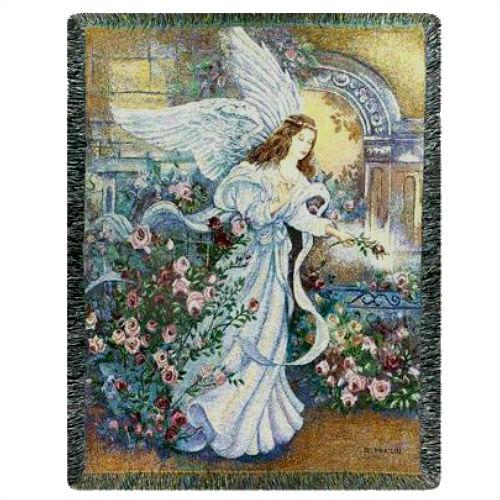 Angel Of Love Woven Blanket Throw BEST SELLER [MWWATLAOL Simple Memorial Throws Blankets