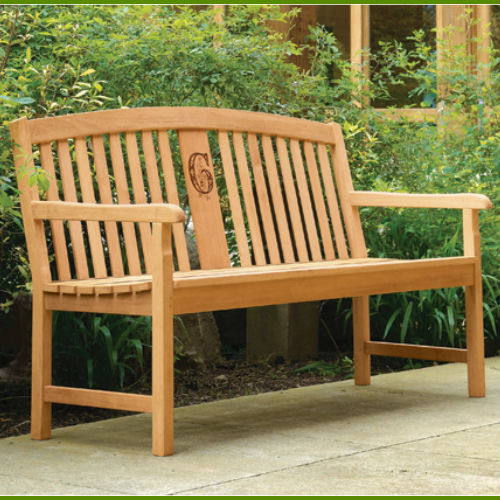 Custom Signature Series Garden Memorial Bench Personalizedsympathy Gift Memorial