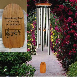 "Large ""100% PERSONALIZED"" Amazing Grace Chime (BEST SELLER)"