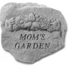 Mom's Garden Stone With Flowers