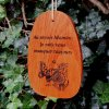 "Medium ""WHEN SOMEONE YOU LOVE"" Amazing Grace Chime. Personalized"