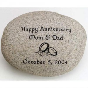 Garden Stone, Extra Large. Personalized
