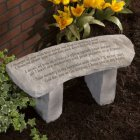 I Thought of You With Love Today Garden Memorial Bench