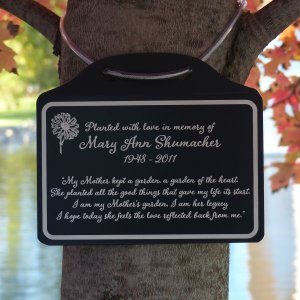 Tree Charm™ Mother's Legacy Tree Memorial Marker. Personalized