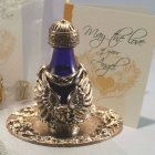 Angel Wings Tear Bottle & FREE Matching Tray - SILVER