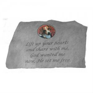 "Lift Up Your Hearts... ""PHOTO CAMEO"" Garden Stone"