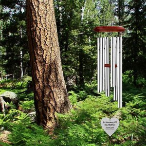 "Custom ""SHAPES"" Wind Chime - 3 sizes - S, M, L. Personalized"