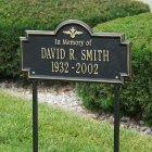 "Arlington ""In Memory of"" Marker. Personalized"