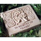 Wild Orchid Garden Memorial Stone. Personalized