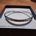A Grandmother's Love - the Heart of the Family - Sterling Silver