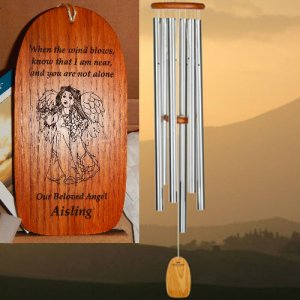 "XL ""HEAVENLY"" Amazing Grace chime. Personalized (NEW!)"