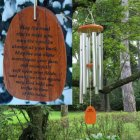 "Medium ""IRISH BLESSING"" Wind Chime. Personalized (BEST SELLER)"