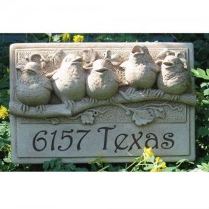 Baby Birds Plaque. Personalized