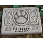 Celtic Memorial Garden Stone. Personalized