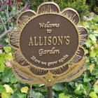 Garden Flower Marker. Personalized