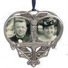 In Loving Memory Double Photo Memorial Ornament (BEST SELLER)