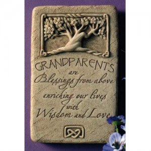Grandparents are Blessings Plaque