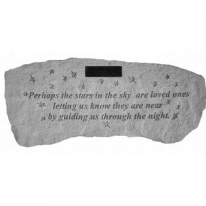 Perhaps The Stars Garden Memorial Bench Personalized Memorial Bench Memorial Benches In