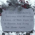 If Tears Could Build a Stairway Garden Stone (BEST SELLER)