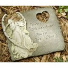 Always in our Hearts Angel Garden Memorial Stone (BEST SELLER)