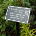 A Beautiful Soul Personalized Garden / Tree Marker