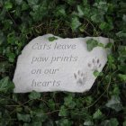 Cats Leave Paw Prints Garden Stone (BEST SELLER)