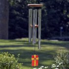 Amazing Grace Wind Chime. Stained Glass Cross