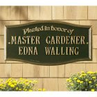 Planted in Honor of Wall Plaque. Personalized