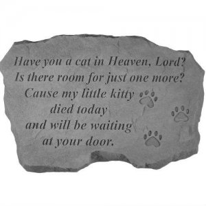 Have You A Cat In Heaven Garden Stone Kb 948 36