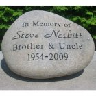 Garden Stone, Large. Personalized (BEST SELLER)