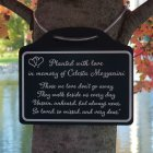 Tree Charm™ - Those We Love Tree Memorial Marker. Personalized