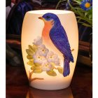 Memory Lamp - Bluebird on Cherry Blossom (BEST SELLER)