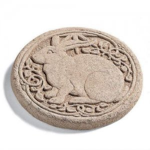 Rabbit Stepping Stone - Round