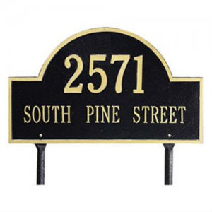 Arch Marker Standard Size Lawn Marker. Personalized