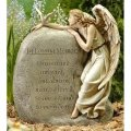 Memorial Angel with Dove (BEST SELLER)