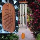 Large IRISH BLESSING Wind Chime. Personalized (BEST SELLER)
