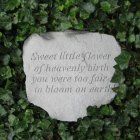 Sweet Little Flower Garden Stone