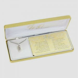 If Ever Prayer Box Necklace - Sterling Silver