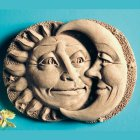 Sun and Moon Celestial Plaque
