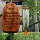 "Medium ""FATHER'S - FISHERMAN'S PRAYER"" Wind Chime. Personalized"