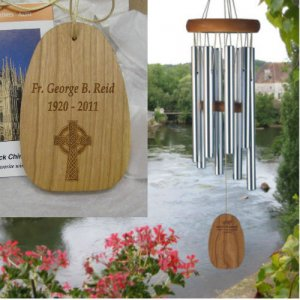 Small Gregorian Soprano Chime. Personalized