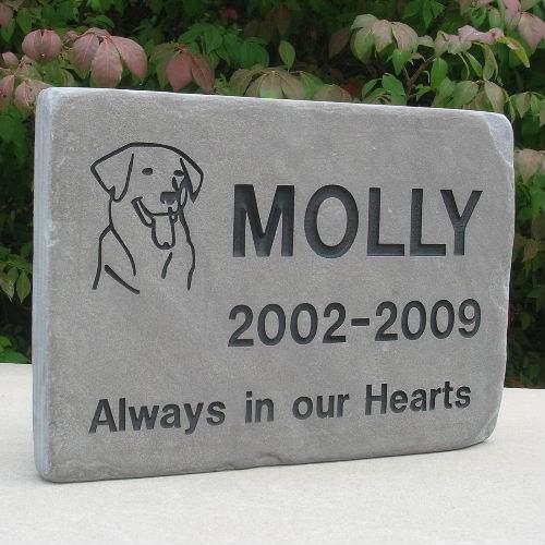 Dog Stones Pet Stones Pet Memorial Stone Pet Grave Marker