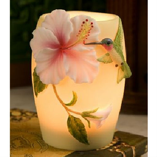 Memory Lamp Hummingbird And Hibiscus Flower Best Seller Iao