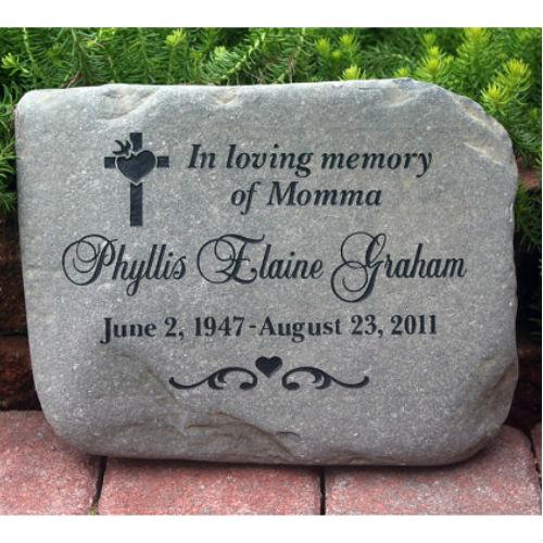 Personalized Garden Memorial Stones Garden Ftempo